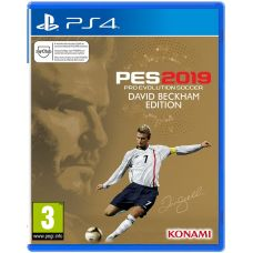 Pro Evolution Soccer 2019 David Beckham Edition (русская версия) (PS4)