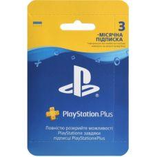 Подписка PlayStation Plus (3 месяца) (регион UA)