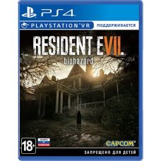 Resident Evil 7 Biohazard (русская версия) (PS4)