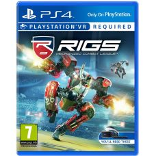 RIGS: Mechanized Combat League VR (русская версия) (PS4)