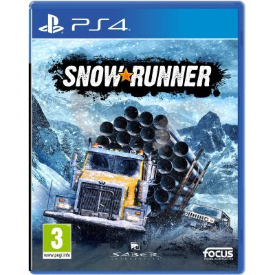 SnowRunner (русская версия) (PS4)