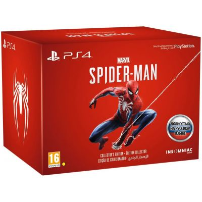 Spider-Man/Человек-Паук. Collector's Edition (русская версия) (PS4)