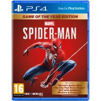 Spider-Man Game of the Year Edition/Человек-Паук Издание Игра Года (русская версия) (PS4)