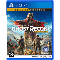 Tom Clancy's Ghost Recon: Wildlands. Deluxe Edition (русская версия) (PS4)