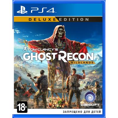 Tom Clancy's Ghost Recon: Wildlands. Deluxe Edition (русская версия) (PS4)