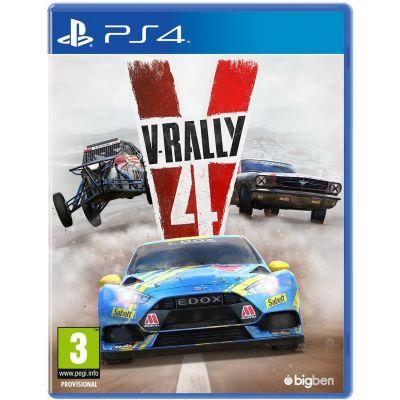 V-Rally 4 (русская версия) (PS4)