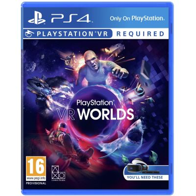 Worlds VR (русская версия) (PS4)