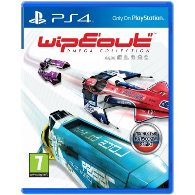WipEout Omega Collection (русская версия) (PS4)