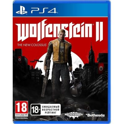 Wolfenstein II: The New Colossus (русская версия) (PS4)