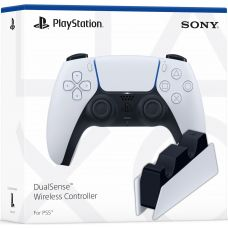 Sony DualSense (White) + Зарядная станция Sony DualSense Charging Station