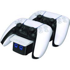 Зарядная станция Venom PlayStation 5 Controller Twin Docking Station (White)