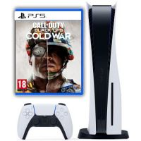 Sony Playstation 5 White 1Tb + Call of Duty: Black Ops Cold War (русская версия)