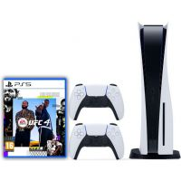 Sony Playstation 5 White 1Tb + UFC 4 (русская версия) + DualSense (White)