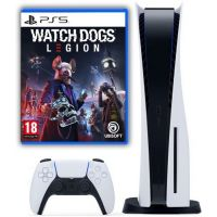 Sony Playstation 5 White 1Tb + Watch Dogs: Legion (русская версия)