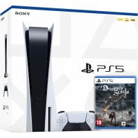 Sony Playstation 5 White 825Gb + Demon's Souls (русская версия)