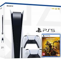 Sony Playstation 5 White 825Gb + Mortal Kombat 11 Ultimate (русская версия) + DualSense (White)
