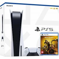 Sony Playstation 5 White 825Gb + Mortal Kombat 11 Ultimate (русская версия)