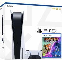 Sony PlayStation 5 White 825Gb + Ratchet & Clank: Rift Apart. Сквозь миры (русская версия)