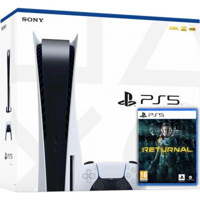 Sony PlayStation 5 White 825Gb + Returnal (русская версия)