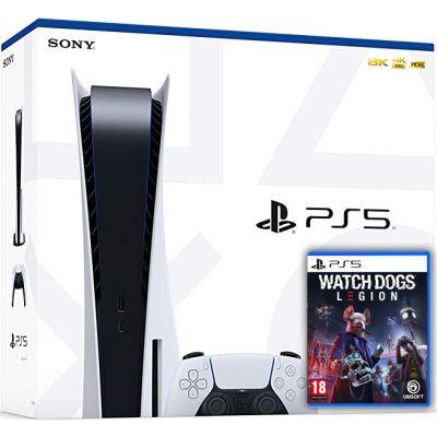 Sony Playstation 5 White 825Gb + Watch Dogs: Legion (русская версия)