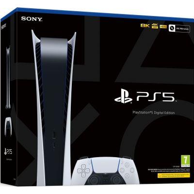Sony Playstation 5 White 825Gb Digital Edition