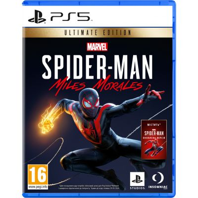 Marvel's Spider-Man: Miles Morales Ultimate Edition (русская версия) (PS5)