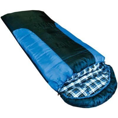 Спальный мешок Balaton  индиго/черный L