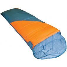 Спальный мешок Fluff оранжевый/серый L