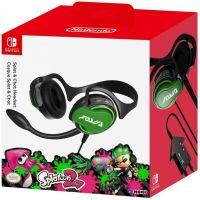 Hori Splatoon 2 Splat & Chat Headset для Nintendo Switch Officially Licensed by Nintendo