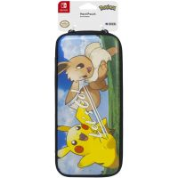 Чехол HORI Hard Pouch (Let's Go Pikachu and Eevee) для Nintendo Switch Officially Licensed by Nintendo