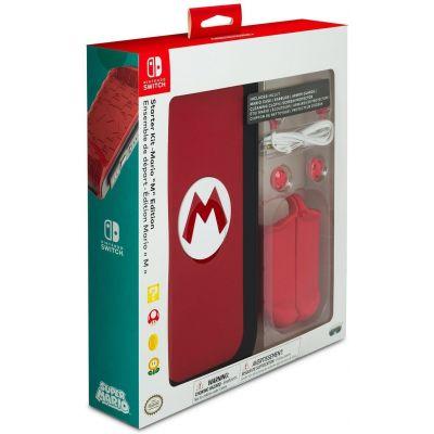 "Mario ""M"" Edition Starter Kit for Nintendo Switch"