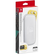 Nintendo Switch Lite Carrying Case & Screen Protector (White) для Nintendo Switch Lite Officially Licensed by Nintendo