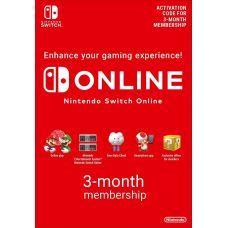 Nintendo Switch Online (3 месяца)