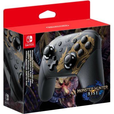 Контроллер Nintendo Switch Pro Monster Hunter Rise Edition