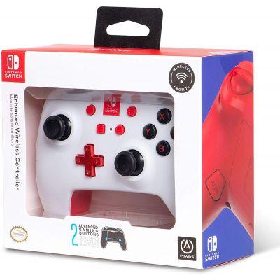 PowerA Enhanced Wireless Controller for Nintendo Switch (White)