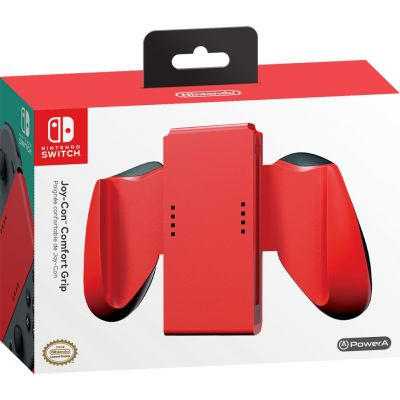 PowerA Joy-Con Comfort Grips (Red) for Nintendo Switch