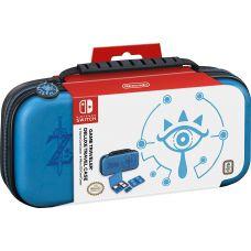 Чехол Deluxe Travel Case Zelda Breath of the Wild Sheikah Eye Blue для Nintendo Switch Officially Licensed by Nintendo