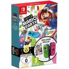Super Mario Party (русская версия) + Joy-Con Pink/Green (пара)