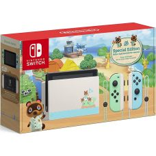 Nintendo Switch Animal Crossing: New Horizons Limited Edition (Upgraded version) + Animal Crossing: New Horizons (русская версия)