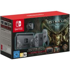 Nintendo Switch Diablo III Limited Edition + Чехол Diablo III + Игра Diablo III: Eternal Collection (русская версия)