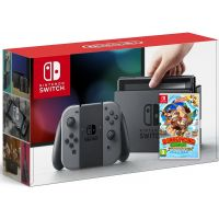 Nintendo Switch Gray + Игра Donkey Kong Country: Tropical Freeze