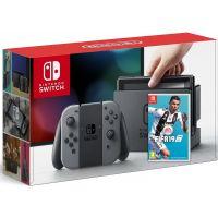 Nintendo Switch Gray + Игра FIFA 19 (русская версия)