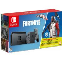 Nintendo Switch Gray + Игра Fortnite (русская версия)