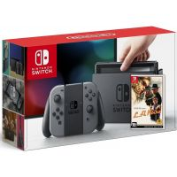 Nintendo Switch Gray + Игра L.A. Noire (русская версия)