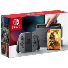 Nintendo Switch Gray + Игра Mortal Kombat 11 (русская версия)