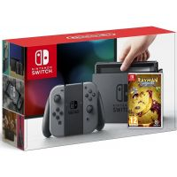 Nintendo Switch Gray + Игра Rayman Legends: Definitive Edition