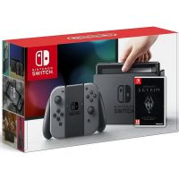 Nintendo Switch Gray + Игра The Elder Scrolls V: Skyrim (русская версия)