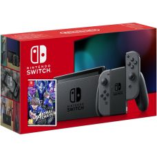 Nintendo Switch Gray (Upgraded version) + Игра Astral Chain (русская версия)
