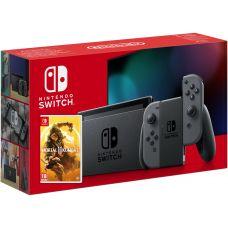 Nintendo Switch Gray (Upgraded version) + Игра Mortal Kombat 11 (русская версия)