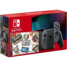 Nintendo Switch Gray (Upgraded version) + Nintendo Labo: Variety Kit